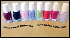 #Essie Resort and Spring 2012 mini box collections
