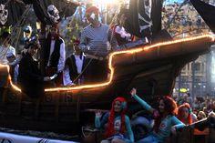 Cabalgata del ninot #Fallas2014