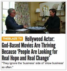 "Glenn Beck Interviews Kevin Sorbo ""God-Based Movies & Hollywood"""