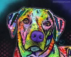 Dean Russo Art — Gentle Ridgeback PRINT