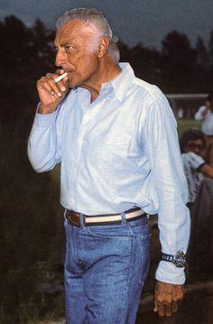 Gianni Agnelli- over the cuff
