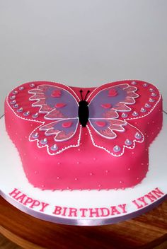 Butterfly Birthday Cake  Cakes By Joti