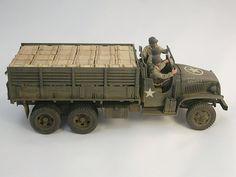 GMC CCKW Plastic Model Kits, Plastic Models, Us Armor, Wood Toys Plans, Model Hobbies, Car Wheels, Model Building, Model Trains, Scale Models