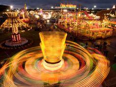 State Fair Ride, Kansas.  Photograph by Joel Sartore