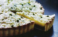 Mette Blomsterberg lemon curd tærte. Mørdej opskrift!