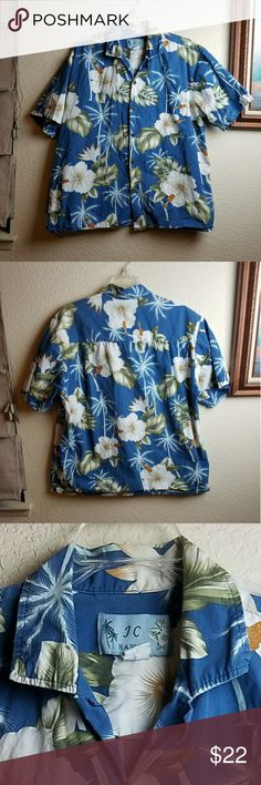 Vintage JC Hawaii Hawaiian Shirt Vintage JC Hawaii Hawaiian Shirt in excellent condition JC HAWAII   Shirts Casual Button Down Shirts
