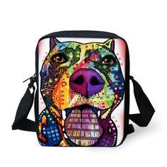 New Brand Designer Women Messenger Bags Pet Dog Printing Shoulder Bag – Gifts…