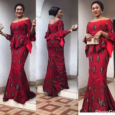 Chic, Trendy and well-groomed styles is a fashion mystérieuse va . When it comes to Ankara style, we have got you covered here at Wedding Digest Naija! In this special edition, we… Latest African Fashion Dresses, African Print Dresses, African Print Fashion, African Dress, African Prints, Unique Ankara Styles, Kente Styles, Ankara Gown Styles, Ankara Skirt And Blouse
