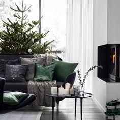 Une décoration de Noël esprit nordique