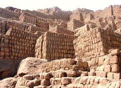 Huaca Pucllana Ancient Ruins Lima Miraflores Peru-- so much history!