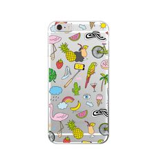 Aliexpress.com : Buy Girly MakeUp Lips Big Eyes Pineapple Secret Unicorn Rainbow Flamingo Soft Phone Case For iPhone 4 5 6 7 S Plus SE 5C from Reliable phone cases for sale suppliers on World Design Phone Accessories