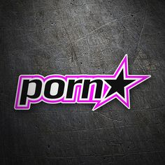 Pegatinas: Porn Star #coche #pegatina #sticker