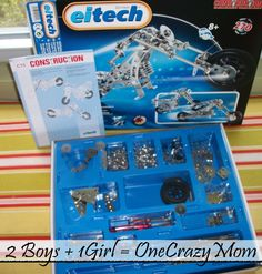 Hot Holiday Toy 2012: Eitech Metal Building Set #Giveaway
