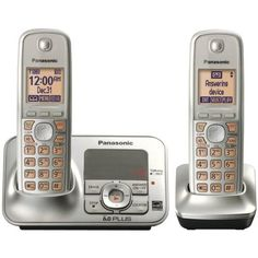 Panasonic KX TG4132N Dect 6.0 Cordless Phone with Answering System, Champagne Gold, 2 Handsets by Panasonic. $88.02. From the Manufacturer                   Introducing the Panasonic KX-TG4132N  The Panasonic KX-TG4132N Expandable Digital Cordless Answering System is perfect for your home or home office environment. DECT 6.0 Plus technology ensures fantastic sound quality and outstanding range making sure your calls all come through crystal clear.    Just some of the ...
