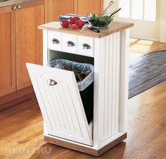 встроенные ящики для отдельного мусора для кухни - Поиск в Google