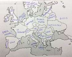 Americans Were Asked To Place European Countries On A Map. Here's What They Wrote: | Bored Panda