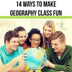 Learn 14 different ways to make geography class relevant, fun and engaging for teachers and students from 2 Peas and a Dog. Social Studies Curriculum, Social Studies Classroom, Inquiry Based Learning, Project Based Learning, Mystery Skype, Physical Geography, Virtual Field Trips, School Librarian, Creative Teaching