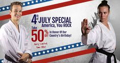 """Homestead Men & Women! 50% Off July 4th Sale on These Fun, Fitness-Boosting, Self- Defense Martial Arts Classes!  TODAY ONLY! 3 Classes + FREE Uniform for Just $9.99 (Regular: $19.99)! Click now & enter promo code """"JULY4"""" at checkout: http://www.masterdavecsd.com/martial-arts/  or Call 305 224-9354!"""