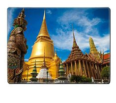 Liili Natural Rubber Placemat Image ID 15937808 Yak Wat Prakwaew The thailand giant ** Continue to the product at the image link.(It is Amazon affiliate link) #AsianFoods
