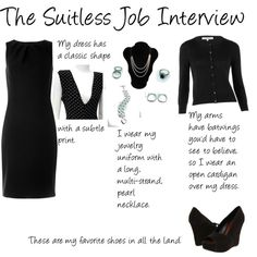 The Suitless Job Interview