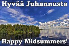 Happy Midsummer! Hyvää juhannusta!