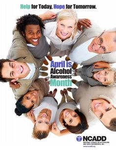 Just One More Drink ~ April is Alcohol Awareness Month - - BINGE drinker and MAINTENANCE drinker are BOTH alcoholics!