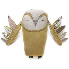 such a cute owl friend. Cute Owl, Creative Words, Fabric Dolls, Softies, Bird Feathers, Art Dolls, Doll Clothes, Baby Shoes, Plush