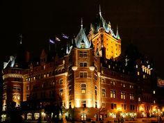 """Fairmont Hotel """"Le Chateau Frontenac"""" by magic-colors"""
