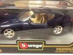 Burago #ferrari 456 gt 1992 1/18 #diamonds #collection in box excellent unused co,  View more on the LINK: 	http://www.zeppy.io/product/gb/2/141927925548/