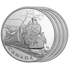 The Canadian Home Front - 1 oz Fine Silver 4-Coin Subscription (2015)