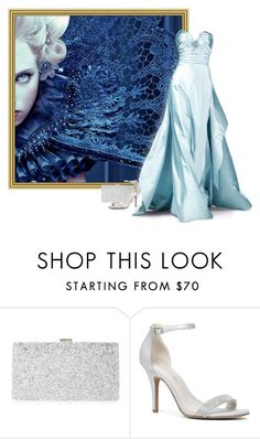 """Blue dress"" by beautifulsunshine1 ❤ liked on Polyvore featuring Sondra Roberts, Oscar de la Renta and ALDO"