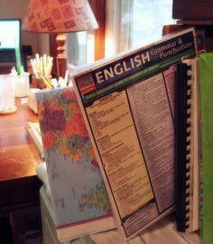 Homeschool organization... great homeschool organizational binder and notebook idea!