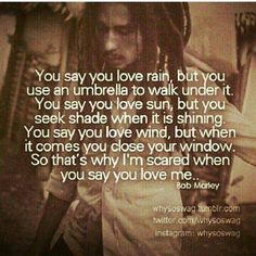 ❤ This Bob Marley Quote.I think B. Marley wrote this for someone I know Great Quotes, Quotes To Live By, Inspirational Quotes, Motivational Quotes, The Darkness, Nesta Marley, Quotable Quotes, Eminem Quotes, Rapper Quotes