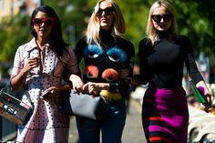 Best Street Style at Milan Fashion Week Street 2013 - Elle and Tyler Joe