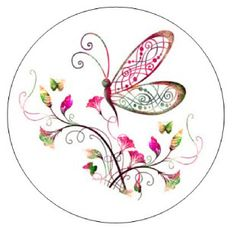 whimsical butterfly clip art