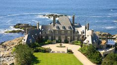 My Dream Home!  254 Ocean Avenue, a 1936 mansion on Newport's southernmost tip, has 14 bedrooms, 14 full bathrooms, and 15,851 square feet of living space.