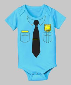 Police Officer Onesie for Baby