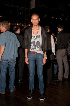 Myself at the @DieselCanada & ONEXONE Fashion Show at Cube Night Club in Toronto.  Photo: Mauricio Calero