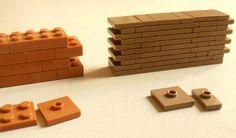LEGO MOC: So wird eine Mauer gebaut   zusammengebaut.com