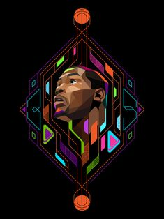 Kevin Durant Low Poly Illustration - Hooped Up