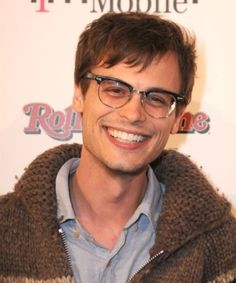f) The M.C.:  Matthew Gray Gubler just seems like such a happy, fun-loving person, and I would love to have him at my wedding!