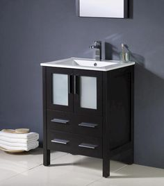 "Bathroom Vanity Ensembles magick woods 31-1/8"" bristol collection vanity ensemble at menards"