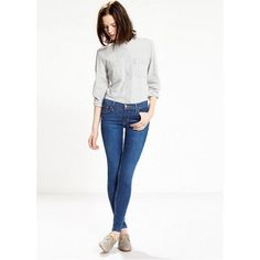 Levi's 710 Super Skinny Jeans Color: Deep Indigo; NWOT, worn once to try on and never worn again. Retails for $88 online. Price negotiable. Levi's Jeans Skinny
