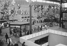 Winkel centrum Zuidplein 1975