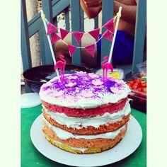 Celebration cake I made for a birthday! <3