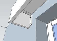 Image result for pelmet over built in bookcase