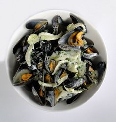 Moules au Roquefort - Mussels with Roquefort Sauce – New York in French
