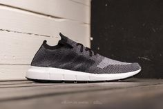 ADIDAS SWIFT RUN PRIMEKNIT CORE BLACK  GREY FIVE  MEDIUM GREY HEATHER on  footshop.com  adidas  shoes 0de179228e