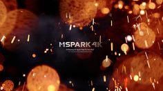 mSpark 4K - drag&drop effects for #FCPX, #AdobePremiere, #DaVinciResolve and others! www.motionvfx.com/B4248 #VFX
