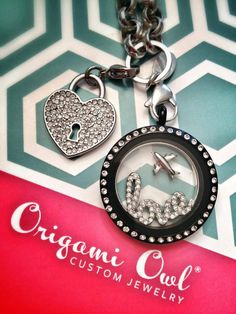 The new Love Window Plate & New Pave Heart Dangle <3